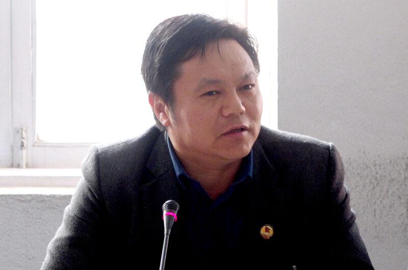 नेकपाका सांसदले मागे सञ्चारमन्त्री बाँस्कोटाको राजीनामा