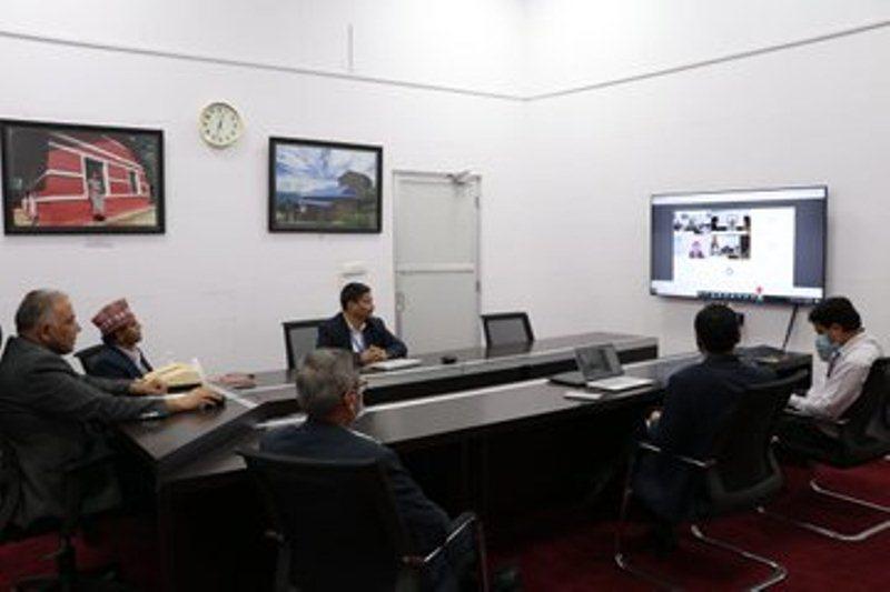 भारतको सहयोगमा शिक्षा क्षेत्रमा भएका प्रयासहरुबारे तयार पारिएको बेभसाइटको शुभारम्भ