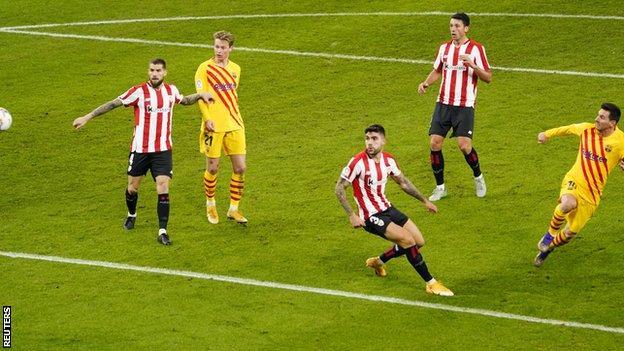 मेस्सीको दुई गोलमा बार्सिलोना विजयी