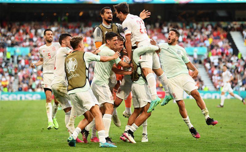 क्रोएसियालाई हराउँदै स्पेन क्वाटरफाइनलमा