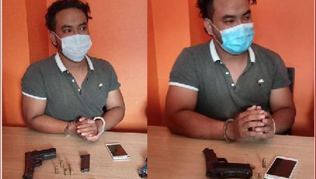 काठमाडौँको सितापाईलाबाट पेस्तुलसहित एक जना पक्राउ